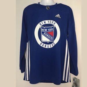 3c251cec11e adidas Shirts - Adidas NHL New York Rangers Jersey Ryan Lundqvist